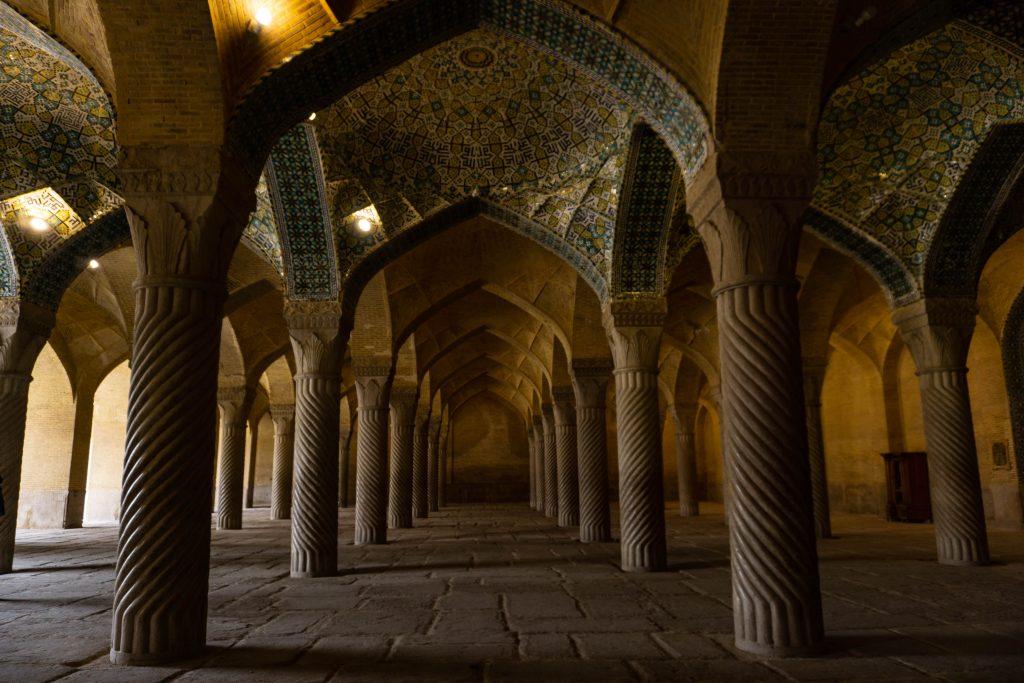 iran ispahan mosquée vakil