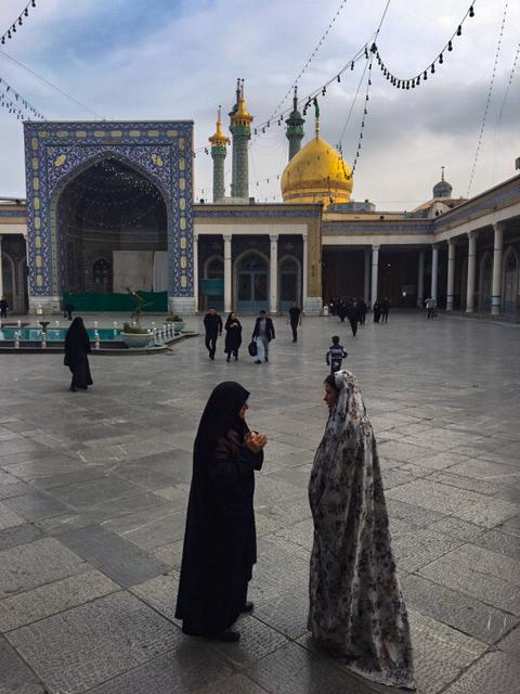 iran, la ville sainte de qom
