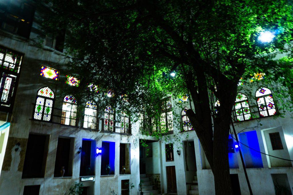 architecture traditionnelle de buchehr sur le golfe persique en Iran