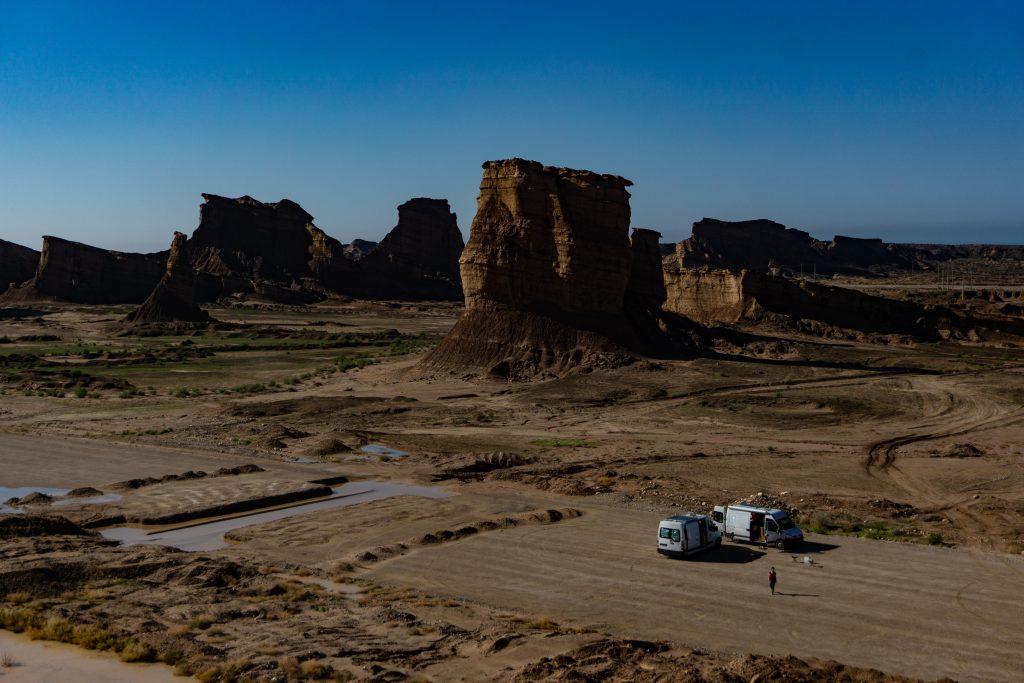 canyon du golfe persique en Iran