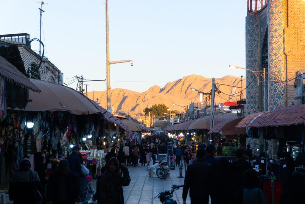 iran bazar de kerman