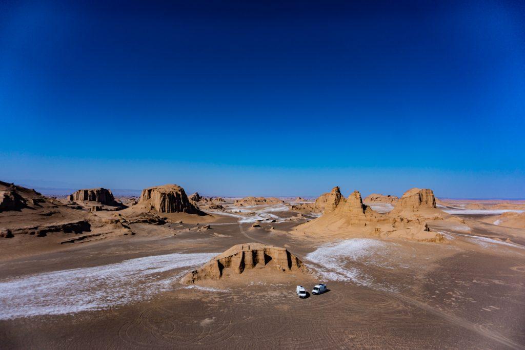 iran les kaluts du désert de lut