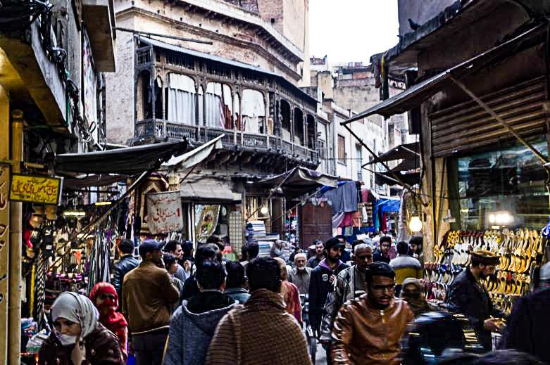 Les rues animées de Lahore