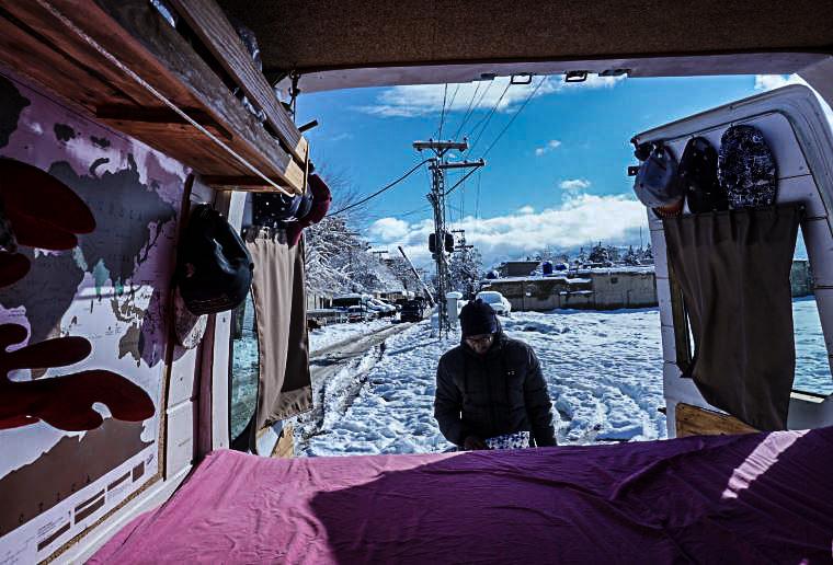 camping station de police Quetta