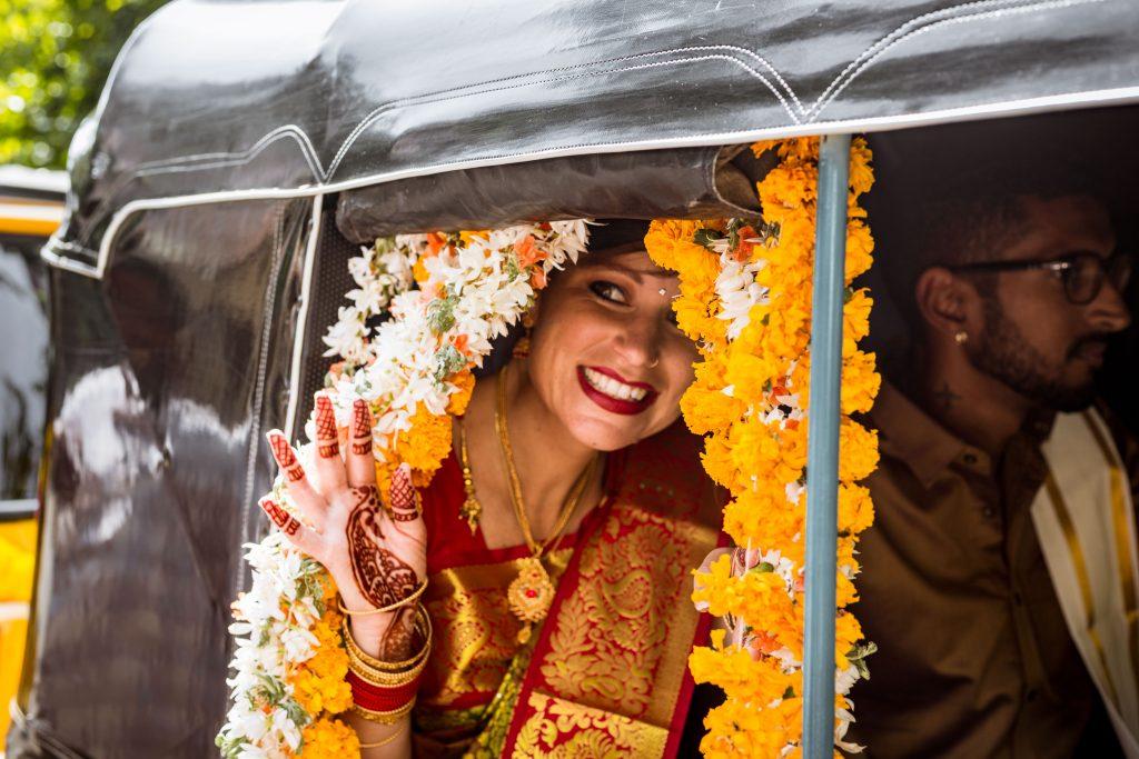 inde mariage tuk-tuk