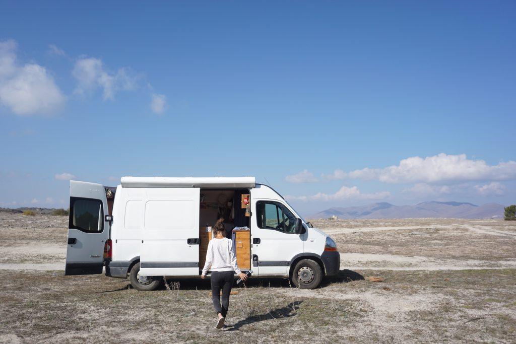 route de la soie en van Arménie