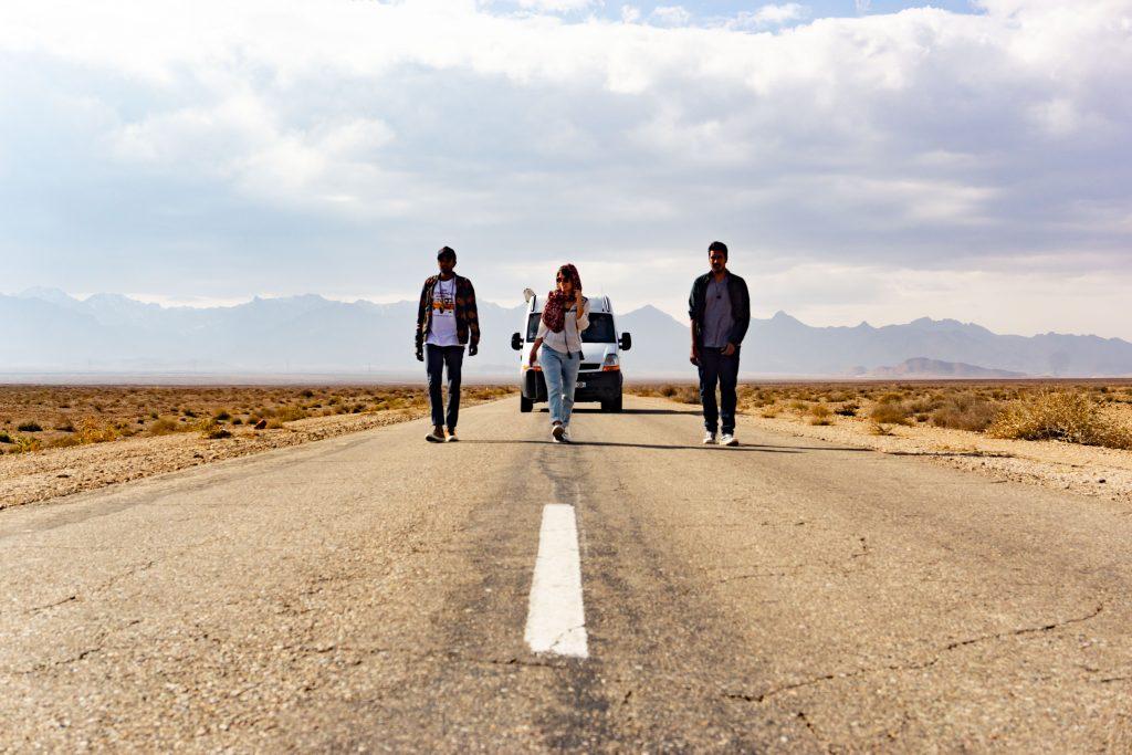 road trip en Iran