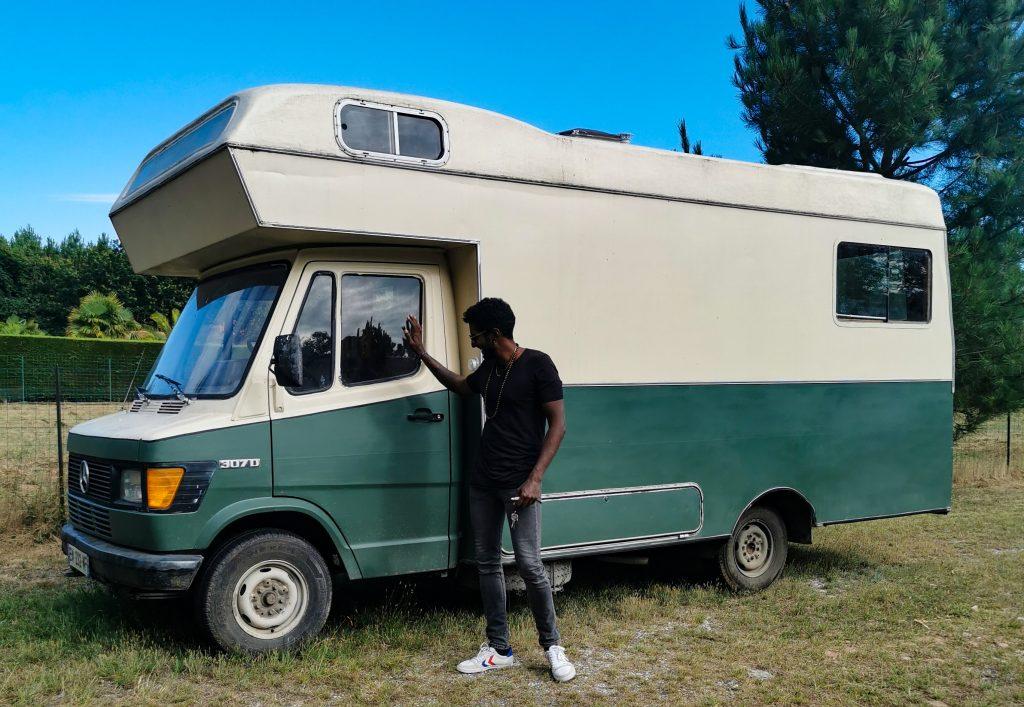 Camping car mercedes 307D