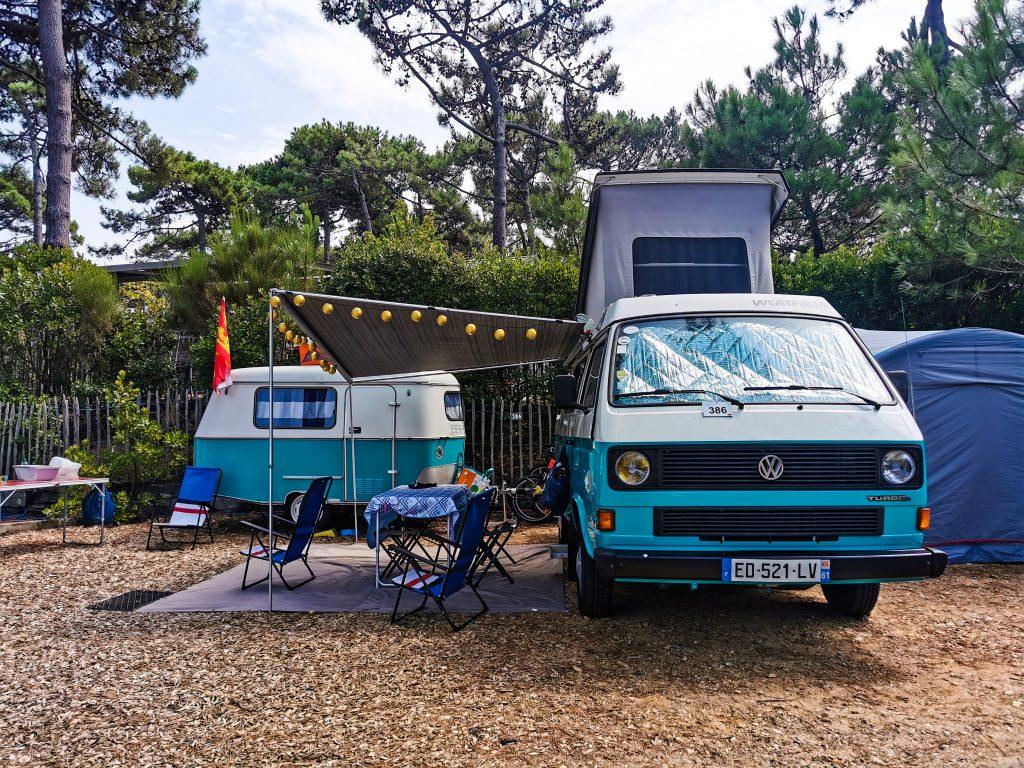 bilan 2020 saison au camping, volkswagen T3