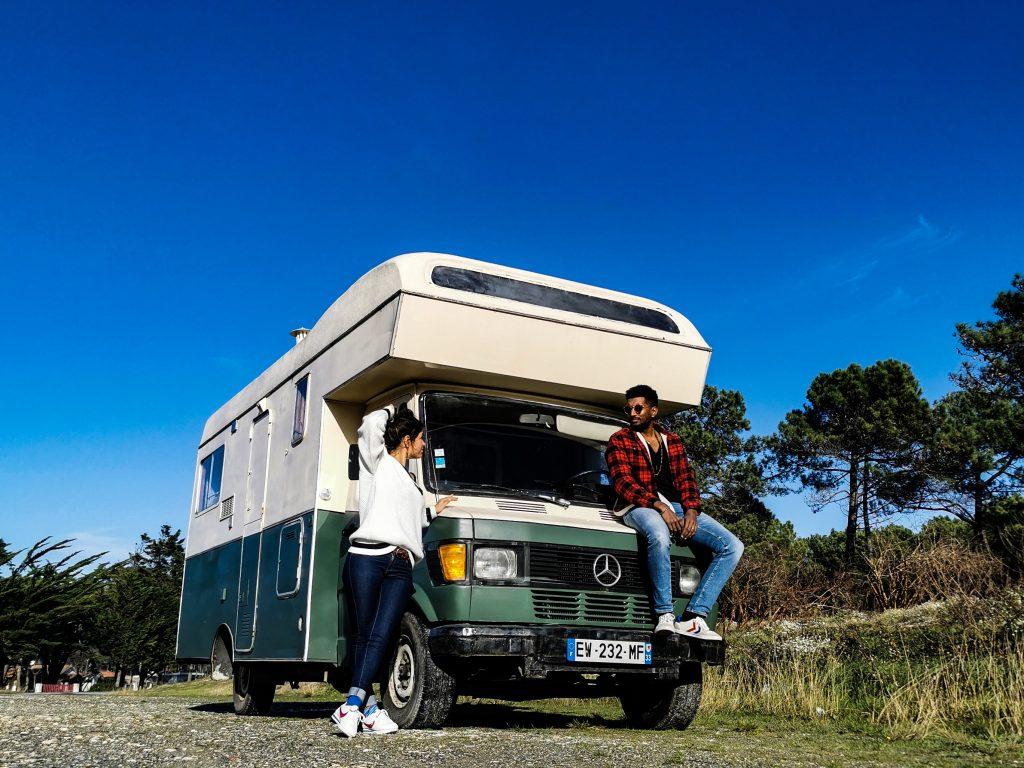 Camping car mercedes 307 D