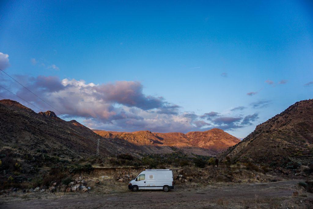 Vanlife en Arménie, vie nomade facilitée