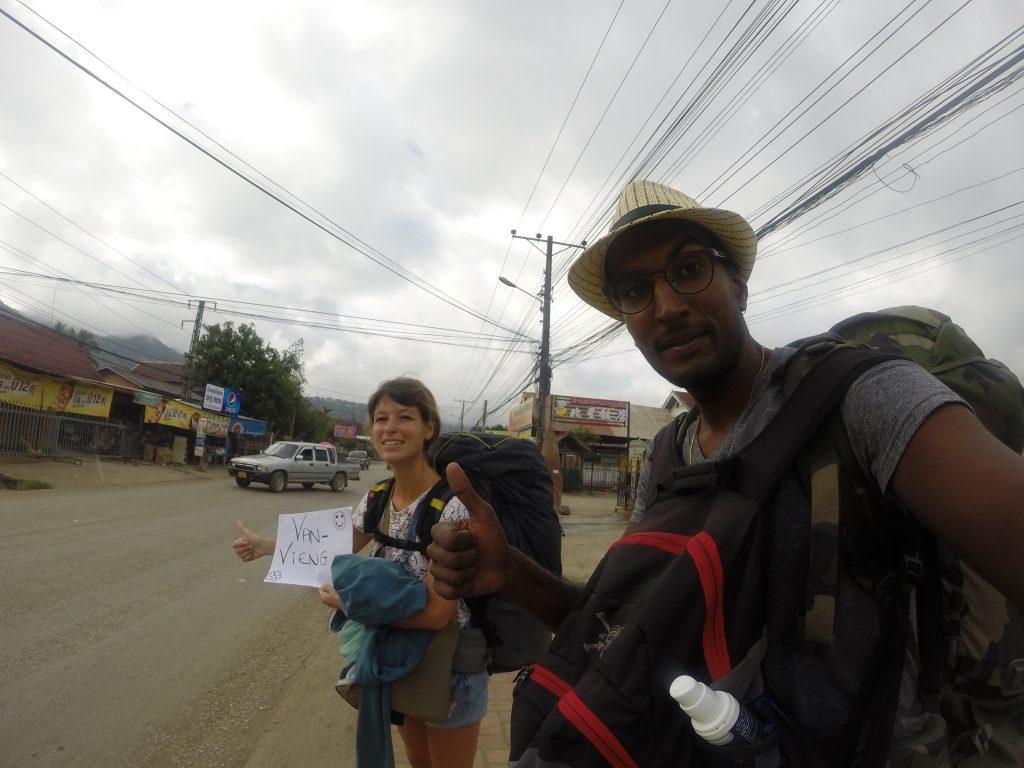 Tour du monde en sacs à dos, Laos